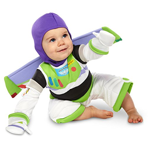 Disney Deluxe Buzz Lightyear Costume for Baby Toddlers Halloween (12-18 (Buzz Lightyear Toddler Costumes)