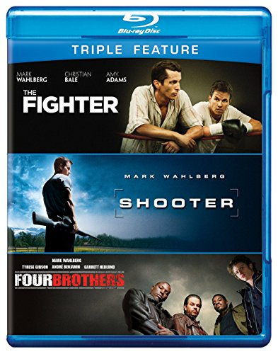 Mark Wahlberg Triple Feature (The Fighter / Shooter / Four Brothers) [Blu-ray]