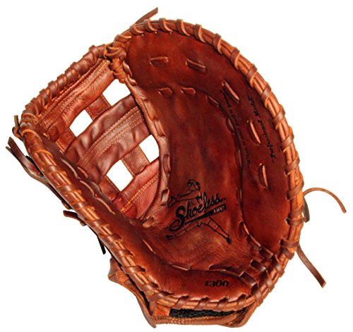 Diamond Ready Baseball Gloves Shoeless Jane 13'' Fast Pitch First Base Glove (Right Hand Throw)