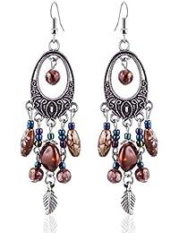 Women's Vintage Fashion Bohemian Long Drop Dangle Earrings