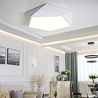ZHUDJ Led-Lampe Schlafzimmer Wohnzimmer Lampe Modern ...