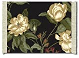 Lextra (Garden Image, Colonial Williamsburg), Mouserug, Black/Cream/Sage, 10.25 x 7.125 Inches, One (MGI-1)