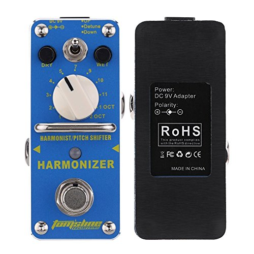 Aroma Guitar Pedal Tomsline AHAR-3 Harmonizer Harmonist/Pitch Shifter -431# ()