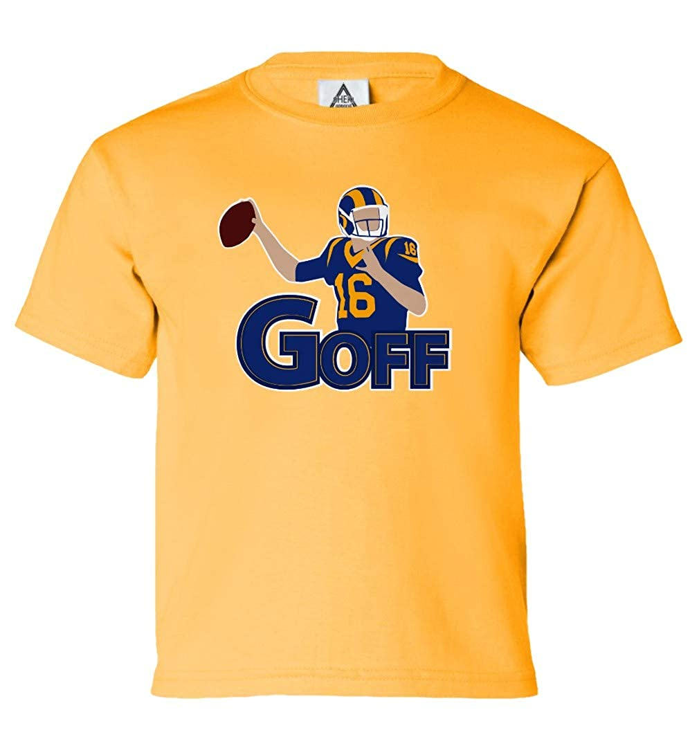 Los Angeles Football Fans Goff Pic Tshirt