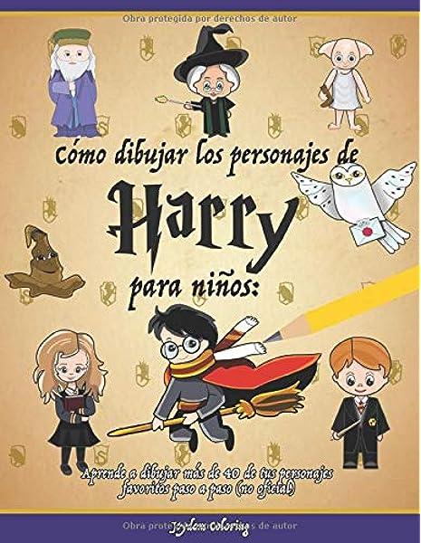 Cómo dibujar los personajes de Harry para niños: Aprende a dibujar ...