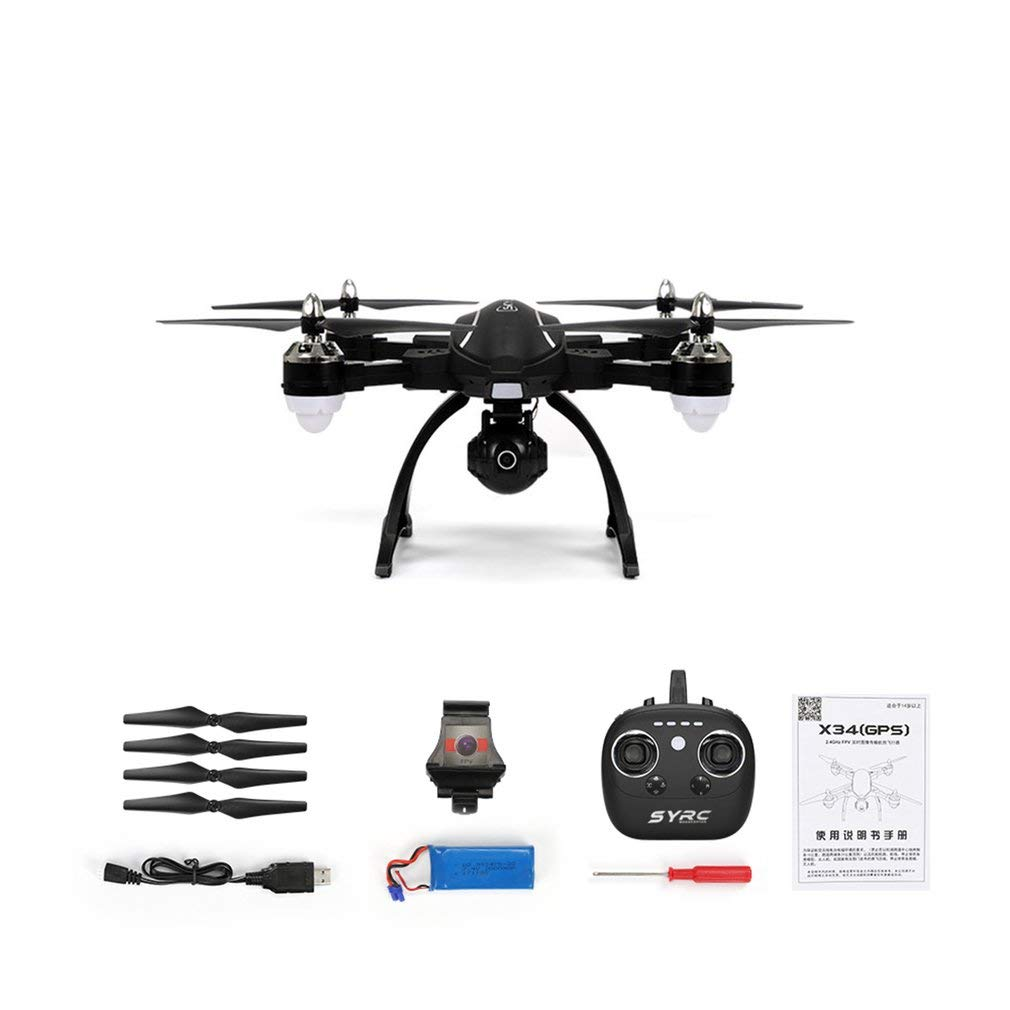 Sunnyday RC Drone X34C Modo Dual 5.8G FPV con 720P Cámara HD ...