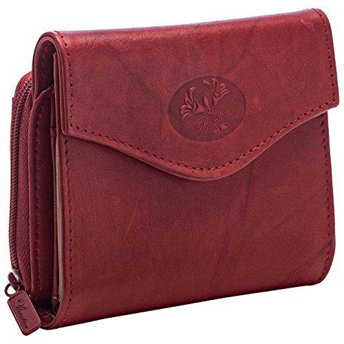 Buxton Heiress Billfold (Buxton Heiress Zip Around Wallet RED)