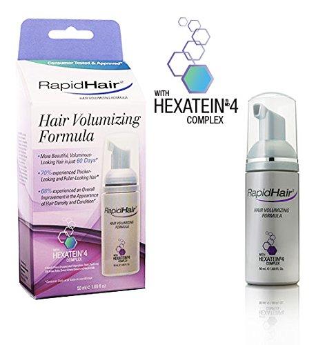 2 X Rapidhair- Rapid Hair Volumizing Formula 50ml with Hexatein 4 Complex by RAPIDHAIR