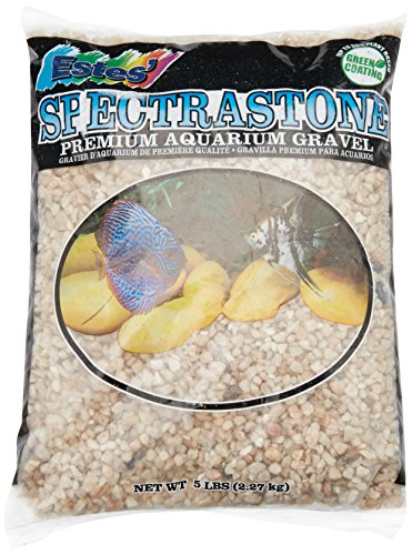 Spectrastone Ocean Beach Pebble for Freshwater Aquariums, 5-Pound Bag by Spectrastone