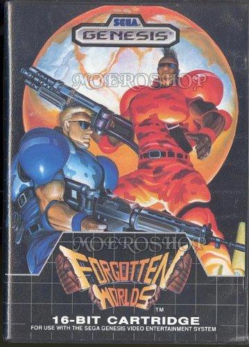 Forgotten Worlds Sega Genesis