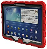 Samsung Tab 3 10 inch (2013) Drop Tech Red Gumdrop Cases Rugged Shock Absorbing Protective Dual Layer Cover Case