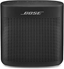 From the pool to the park to the patio, the SoundLink Color Bluetooth speaker II provides full range, portable sound anywhere you go. Advanced Bose technology packs big sound into a small, water resistant speaker that's durable enough to take...