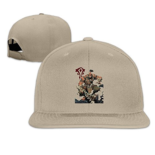 BestSeller World Of Warcraft The Horde Durotan Snapback Adjustable Flat Baseball Cap/Hat For Unisex