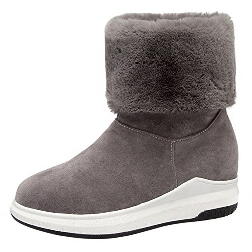 Thick On Gray Women Sole Pull COOLCEPT Boots YnwxIqt08