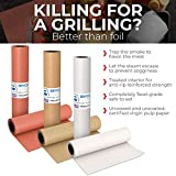 Pink Kraft Butcher Paper Roll - Long 24 Inch x