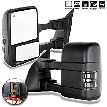 Amazon Com Power Side Tow Mirror Heated Signal Ambient