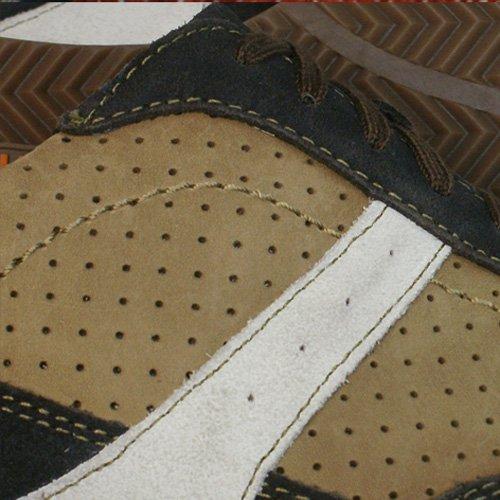 Hush Puppies Sneakers In Pelle Da Uomo Nitrous Oxford - Marrone
