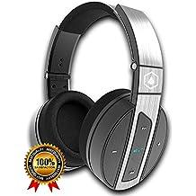 [Patrocinado] Amazon Prime Deals, auriculares Bluetooth: HiFi Elite super66: Premium, Over-the-Ear, auriculares inalámbricos: microphone-feature, noise-isolating, diseño ligero Auriculares con micrófono