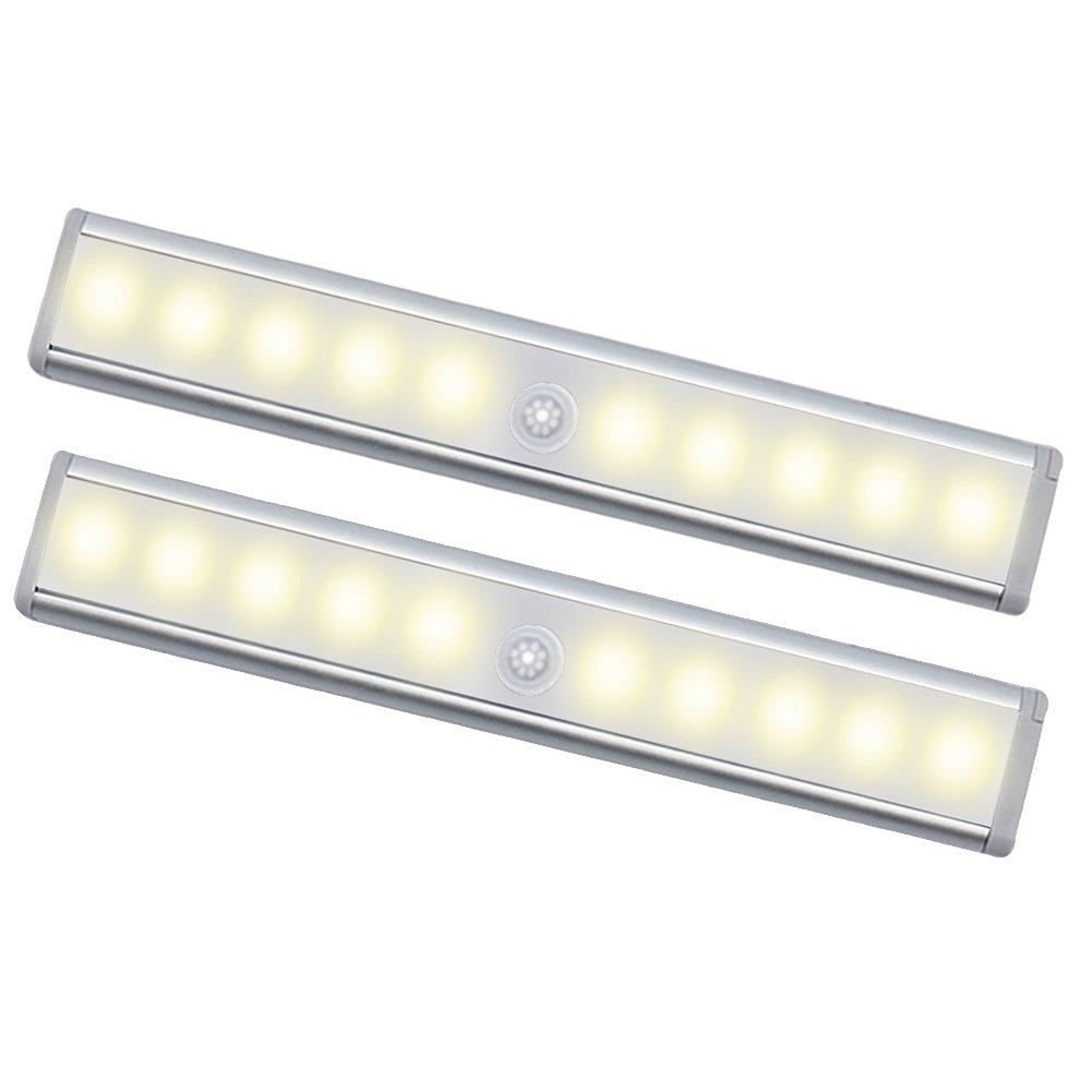 Oisee LED Schrankbeleuchtung Batterie Nachtlicht mit Bewegungsmelder ...