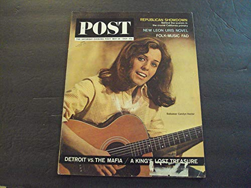 Saturday Evening Post May 30 1964 Folk Music Fad; Mafia vs Detroit