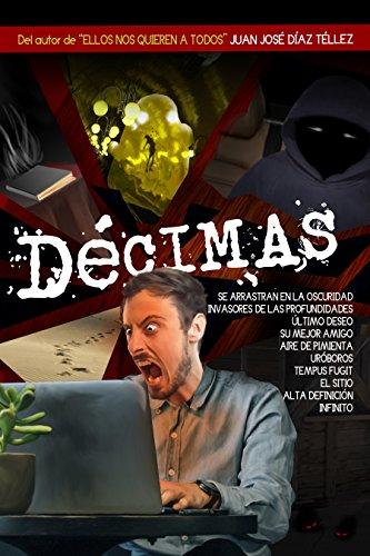 Portada del libro Décimas de Juan José Díaz Téllez