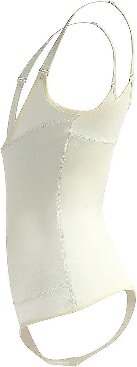 Shymay Womens Latex Waist Trainer Bodysuit Seamless Firm Control Open Bust Corset Cincher Shapewear