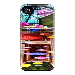 Durable Case For The Iphone 4/4s- Eco-friendly Retail Packaging(umbrella Hanging Around)