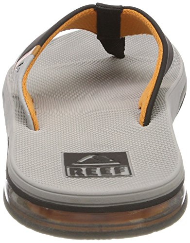 Sandal Low Reef Grey Orange Fanning Men's Thong q4aCISww