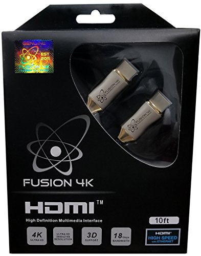Fusion4K High Speed 4K HDMI Cable - Professional Series (10 Feet)