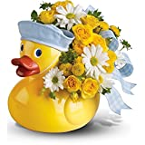 Teleflora's Ducky Delight - Boy - New Baby Flowers