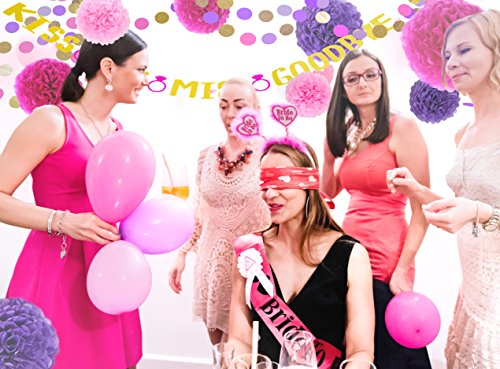 bachelorette party decorations kit bridal shower