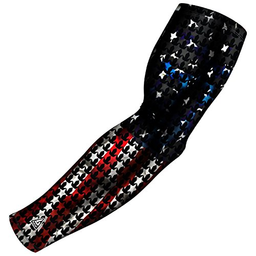 B-Driven Sports Compression Arm Sleeve for Baseball Football Basketball and other sports activities. 40+ Colors and designs available in Adult and Youth Sizes 100% Gaurantee