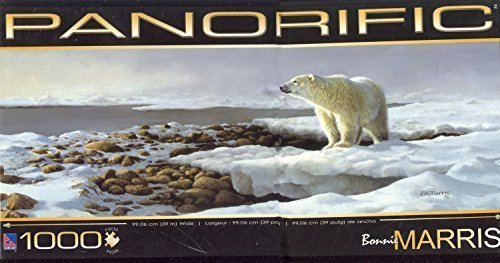 1000 Piece Panorific Bonnie Marris 'Polar Bear' Jigsaw Puzzle