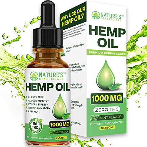 Organic Hemp Oil 1000MG