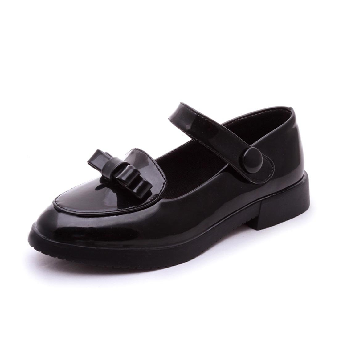 YIBLBOX Girls Children Bowknot Mary Jane Ballet Flats Princess Bridesmaid Wedding Party School Shoes