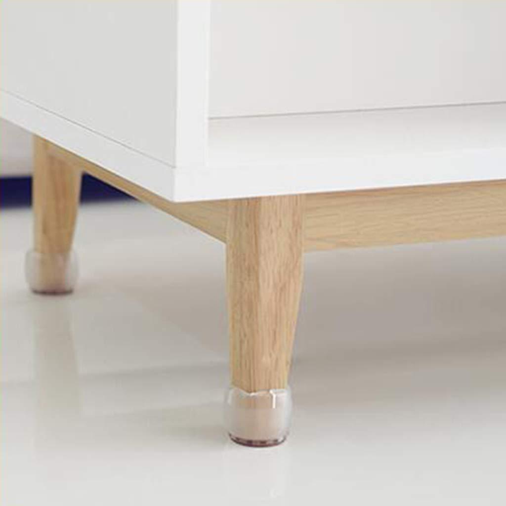 Fenteer 10pcs Silikon Stuhl Kappen Stuhlkappen Stuhlbeinkappen Bodensch/ützer F/ü/ße Pads Set Quadratisches Bein 42-48mm
