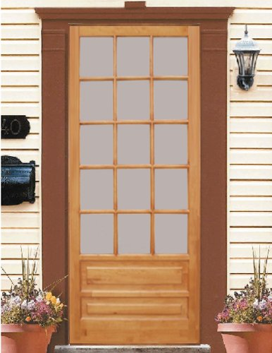 Wood Screen Door Huntington 32x80u0026quot; & Wood Screen Door Huntington 32x80
