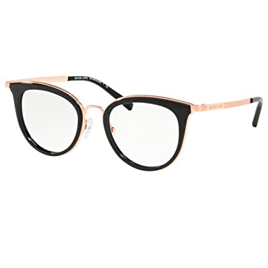 3c28468e2e Image Unavailable. Image not available for. Color  Michael Kors ARUBA  MK3026 Eyeglass Frames 3332-50 - Rose Gold ...