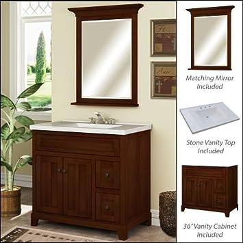 Miseno MVGH36COM 36quot Bathroom Vanity Set