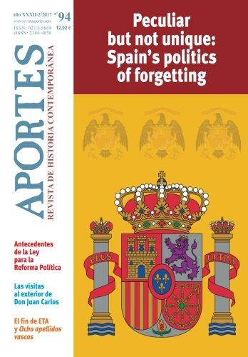 Aportes. Revista de Historia Contemporánea 94, XXXII 2/2017: Amazon.es: Aportes, Revista: Libros