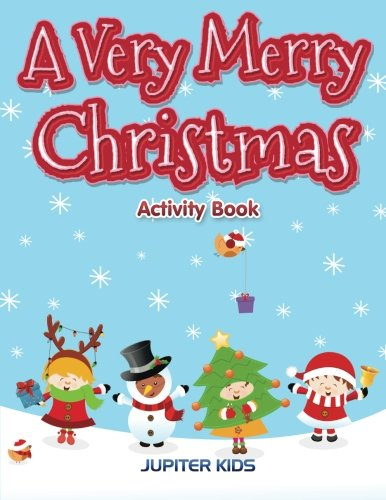 Very Merry Christmas Activity Book product image
