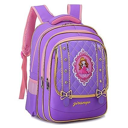 a882af30bf3af MinegRong Lovely Cartoon School Bags backpack Children Orthopedic Backpack  Primary 1-2-3 Grade Nursing Backpack Girl 6-12 year old gift