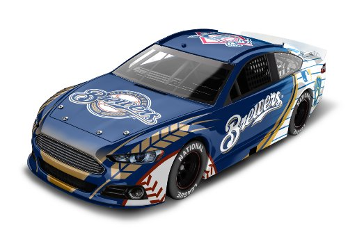 Milwaukee Brewers Major League Baseball Hardtop Diecast Car, 1:64 Scale