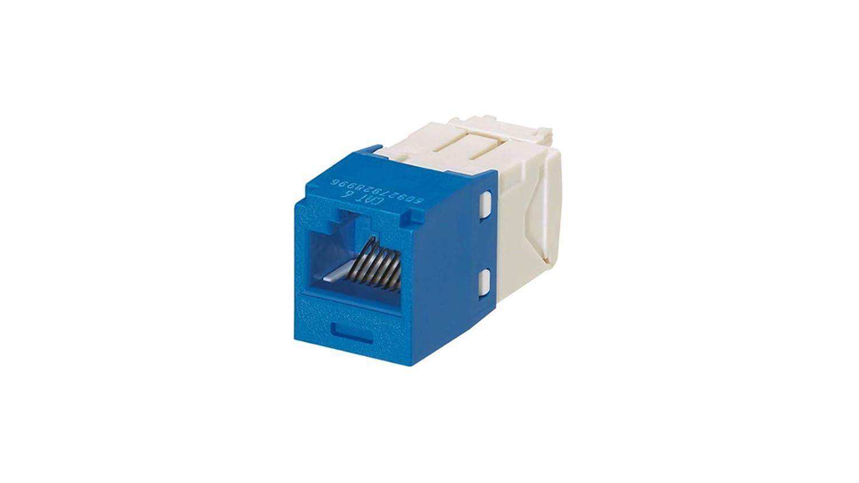 Panduit Cj688tgbu Category 6 8 Wire Tg Style Jack Module Blue Computer Ethernet Cables Amazon Com Industrial Scientific