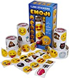 Emoji Universe: Mega Sticker Assortment, 1000 Unique Emoji Stickers