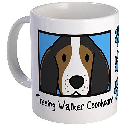 CafePress Anime Treeing Walker Coonhound Mug Unique Coffee Mug, Coffee ()