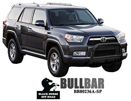 BLACK HORSE BB80236A-SP Bull Bars - 4runner Black Toyota Horse
