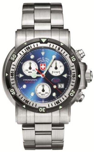 (CX Swiss Military Watch 1727 Sea Wolf 1 - Blue)