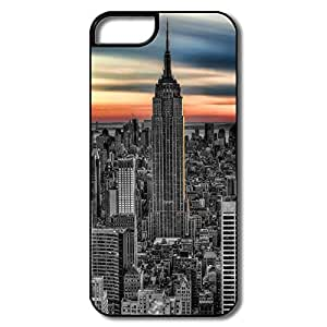 IPhone 5S Cases, Empire State Building White/black Cases For IPhone 5 5S
