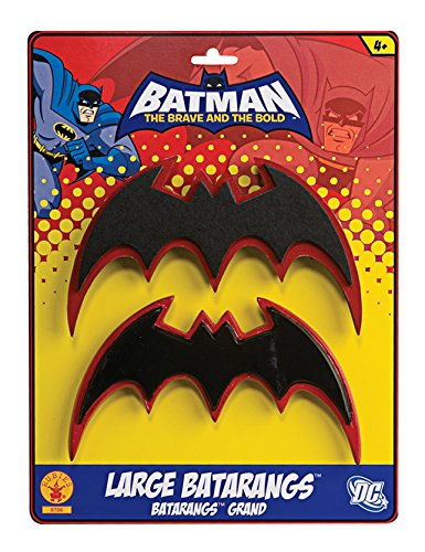 [Rubies Batman The Brave and Bold Costume Batarangs] (Kids Batman And Robin Costumes)